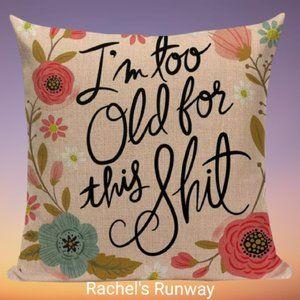 👉BOGO Funny Swear Word Decorative Cushion Cover